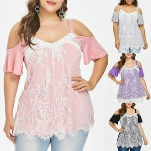 Tops - Ladies plus size blouse